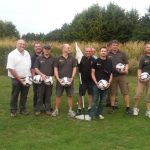 41 Club victors of football golf