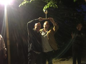 Mike & Mark win boules (May-16)